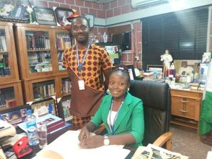Miss Scholastica Ogbodo - Vice Chancellor For One Day 6