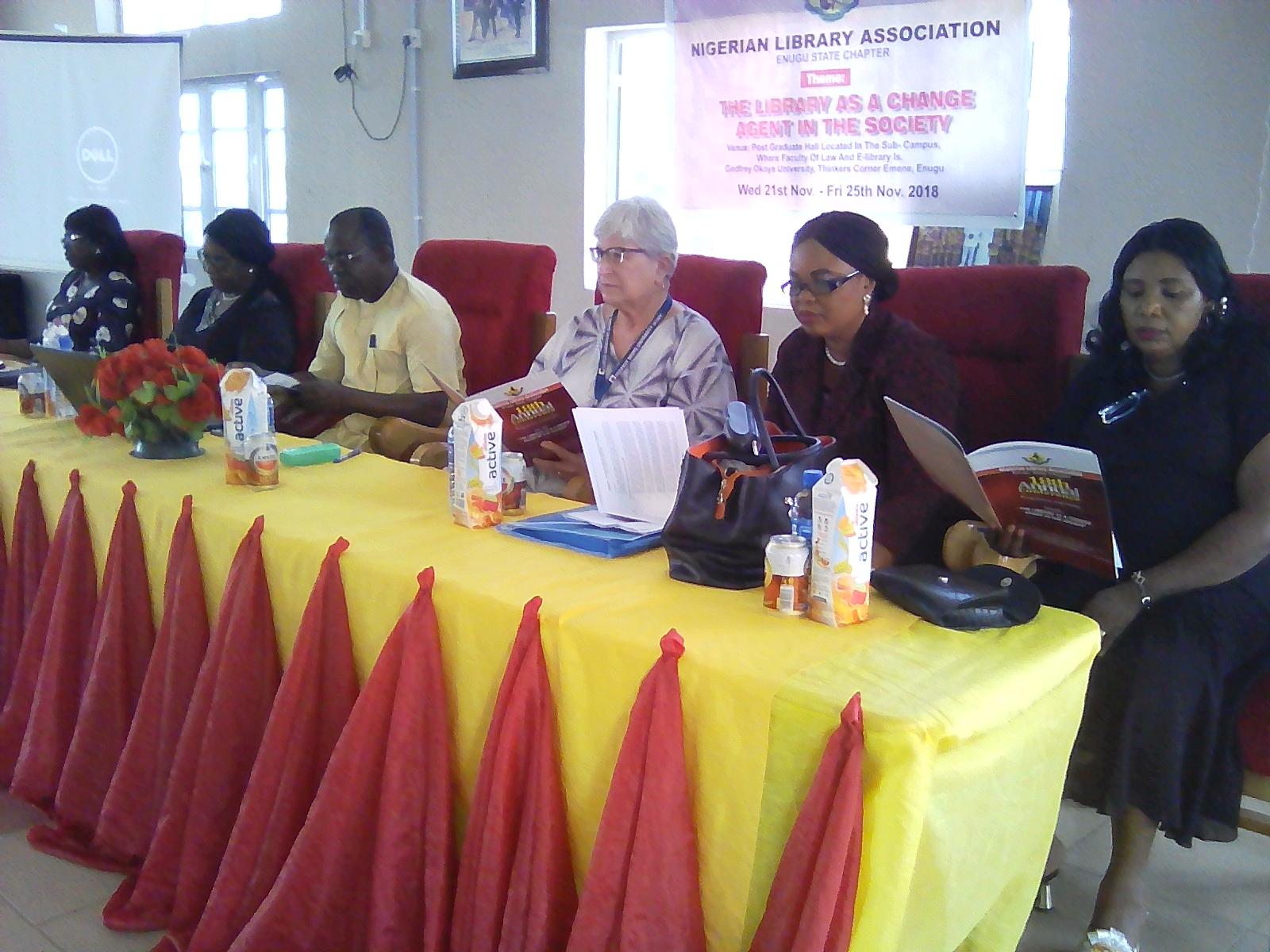 NLA Hosts her 18TH AGM at Godfrey Okoye University, Enugu…