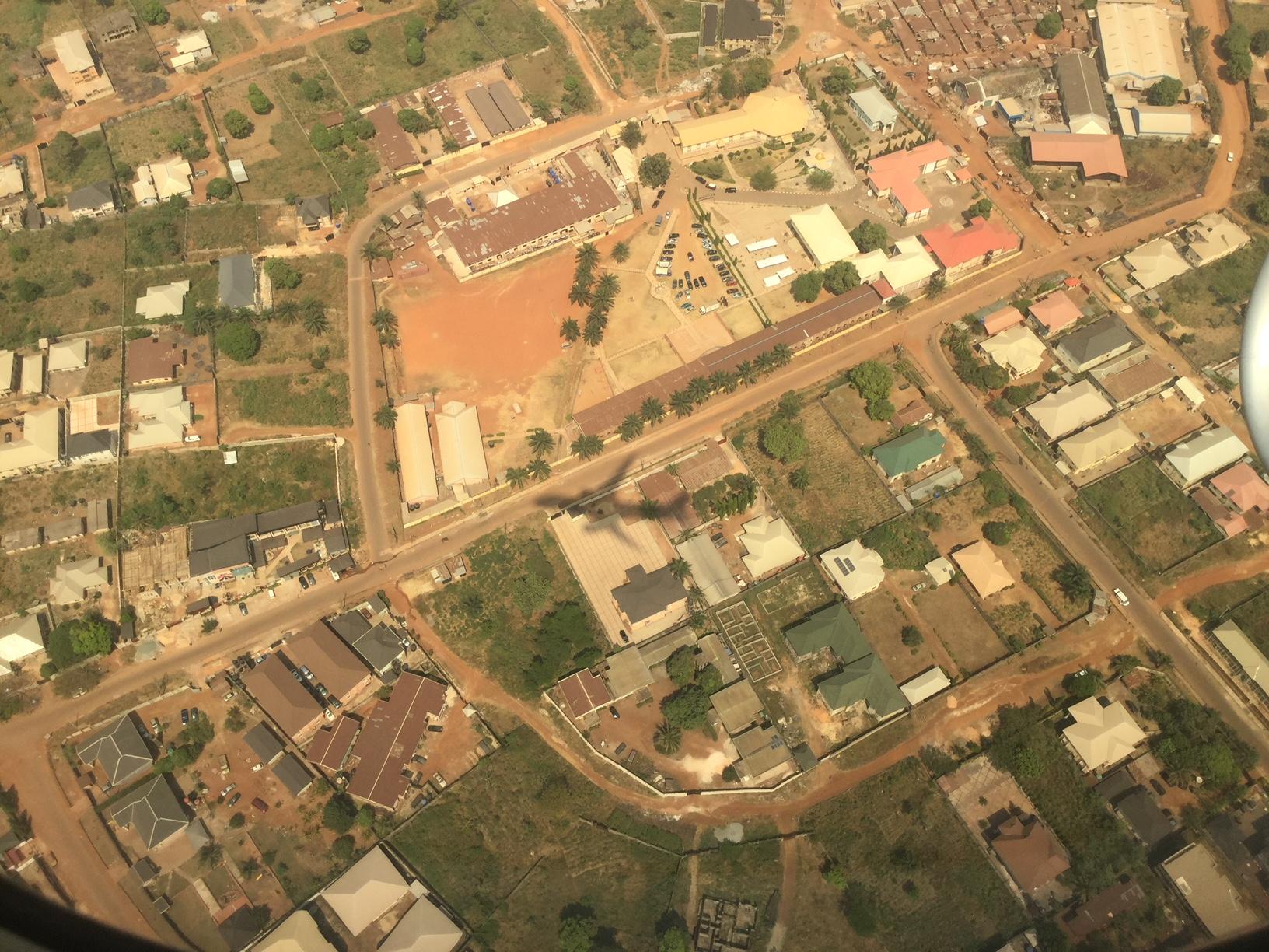 Aerial view of GO University