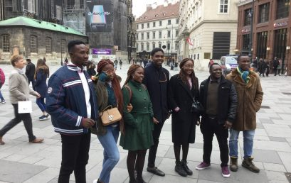 Godfrey Okoye University sends six students to Austria for an exchange programme with Johann Kepler University in Linz, Austria