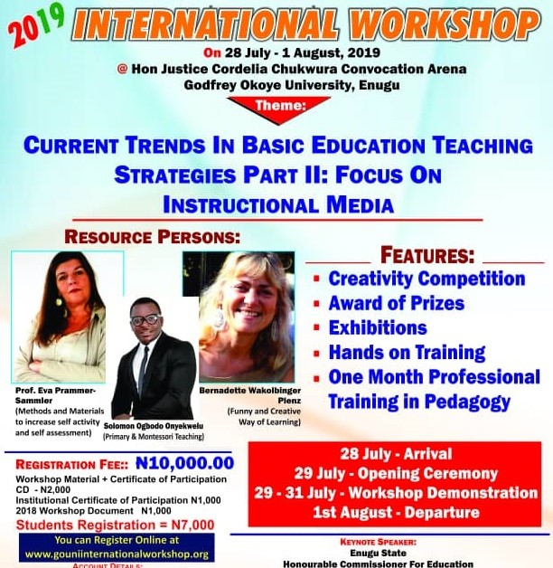 2019 education workshop1