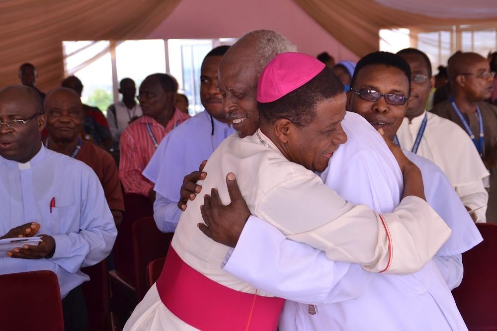 Godfrey Okoye University welcomes the Bishop of the Catholic Diocese of Nsukka, Most Revd. Prof Dr. Godfrey Igwebuike Onah 2