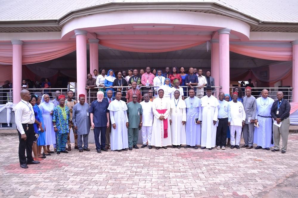 Godfrey Okoye University welcomes the Bishop of the Catholic Diocese of Nsukka, Most Revd. Prof Dr. Godfrey Igwebuike Onah 3