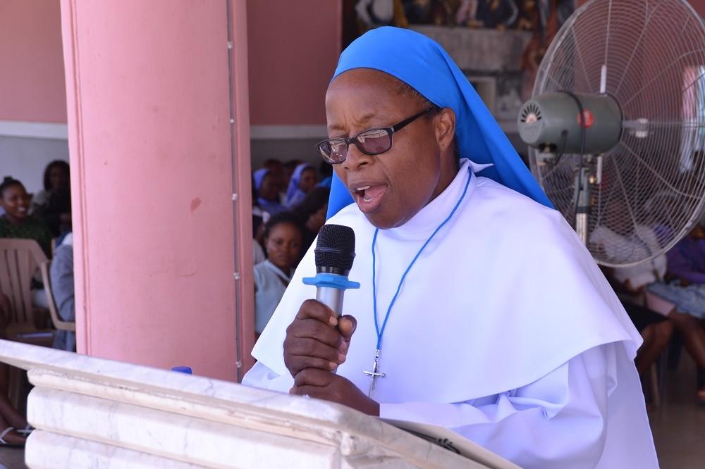 Godfrey Okoye University welcomes Sister Maria Uchechukwu Chukwu, DDL 1