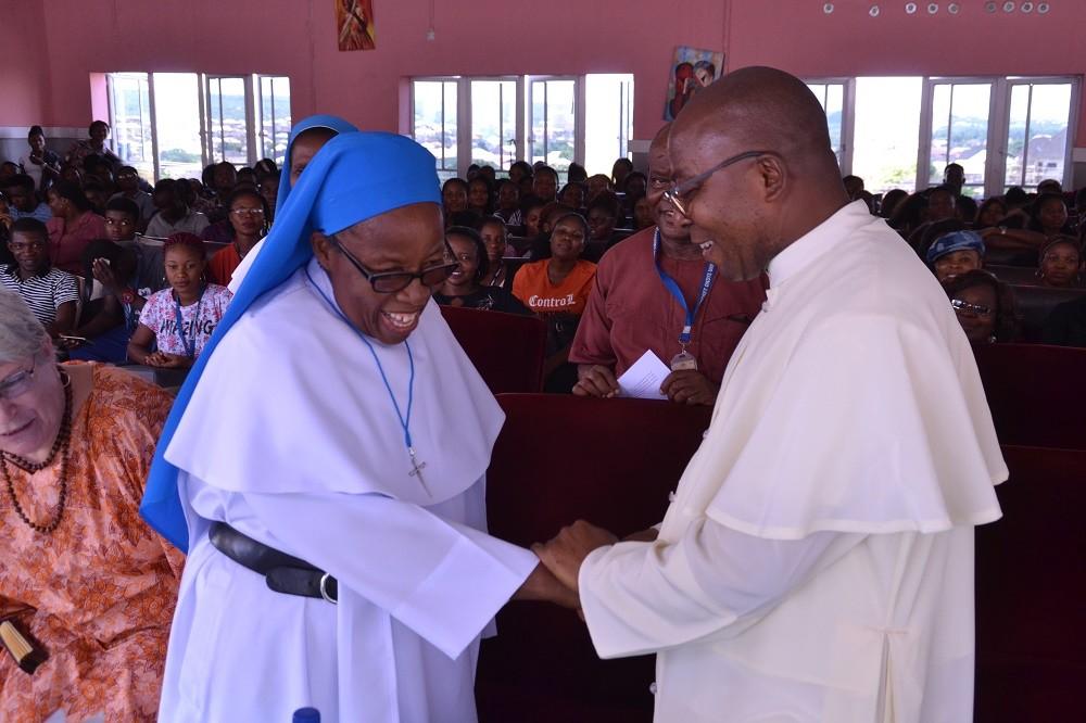 Godfrey Okoye University welcomes Sister Maria Uchechukwu Chukwu, DDL 2