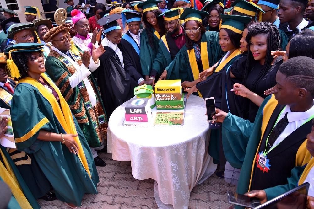 Godfrey Okoye University welcomes 2018/2019 Freshmen. 4