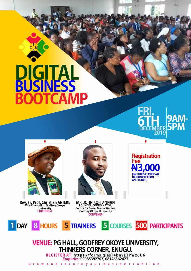 DIGITAL BUSINESS BOOTCAMP