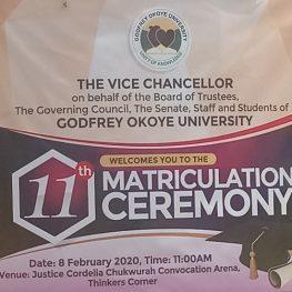11th Matriculation Ceremony 2
