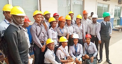 DEPARTMENT OF ARCHITECTURE, GOUNI GOES ON EXCURSION TO ANAMMCO