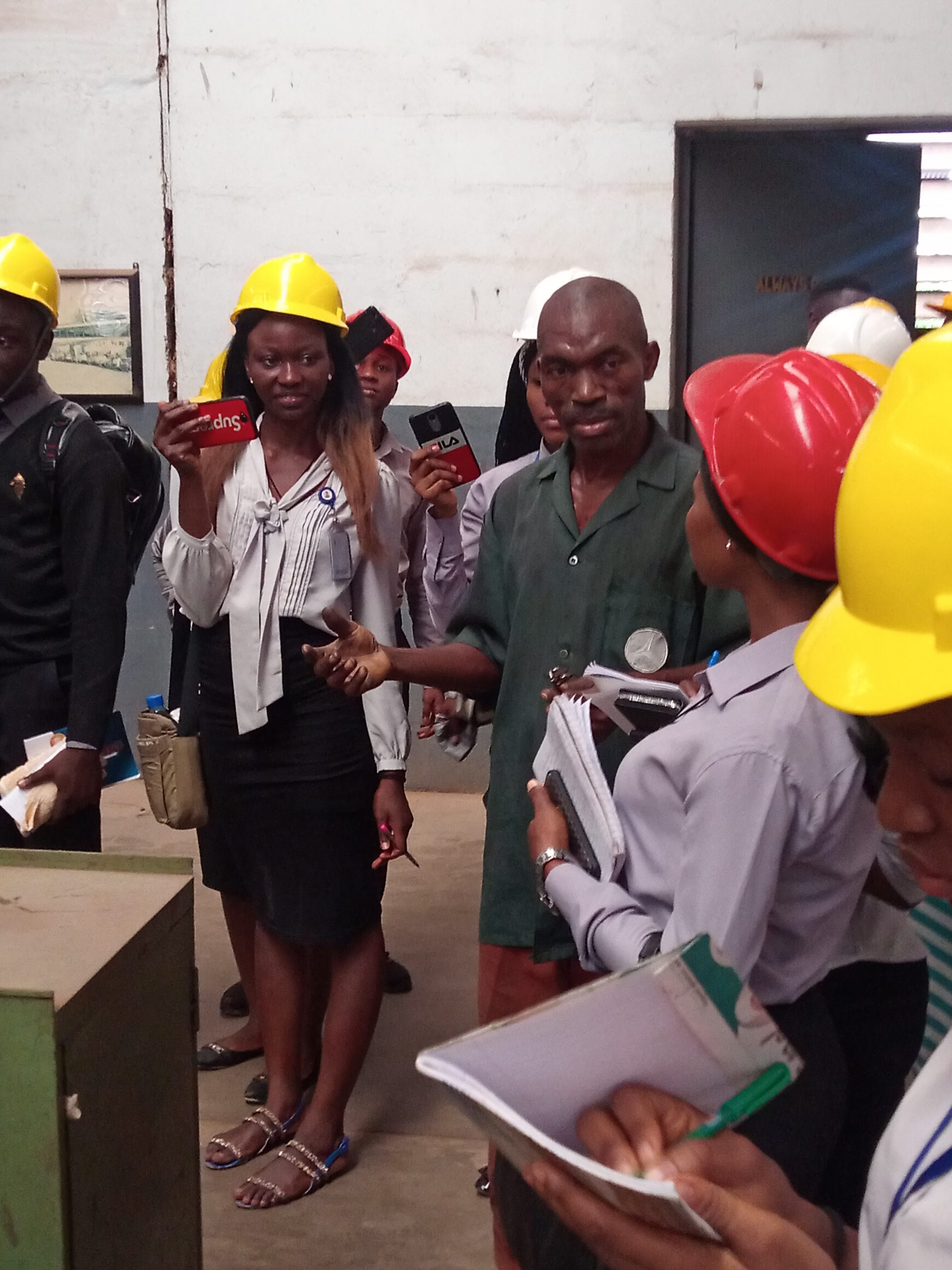 DEPARTMENT OF ARCHITECTURE, GOUNI GOES ON EXCURSION TO ANAMMCO 2