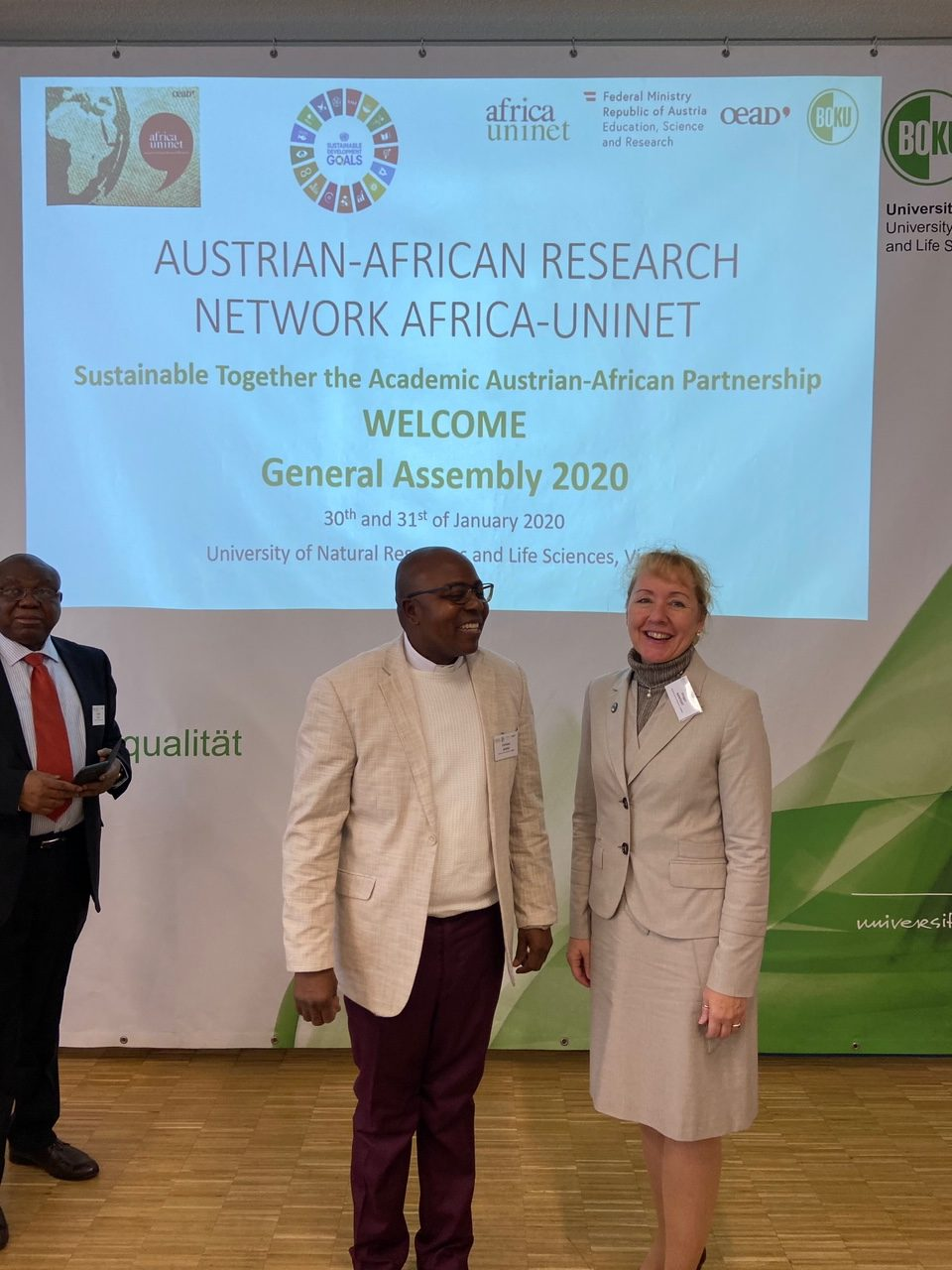 The VC of GO has been  elected President of the Nigerian universities belonging to the biggest Austrian-African universities network (Austrian-Africa Uninet) 4
